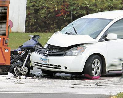 Motorcyclist dies in Hwy 65 crash; 2 more crashes hospitalize 4
