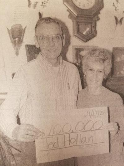 Luck shines on local couple in 1994