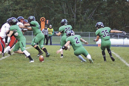 Dragons claim Homecoming win over Aitkin