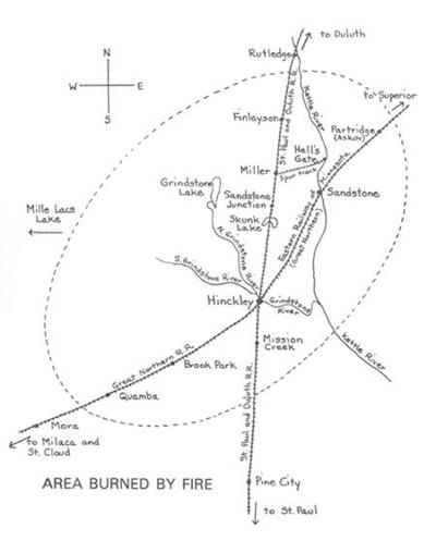 Area burned by fire