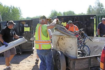 Clean-up time in Pokegama Township