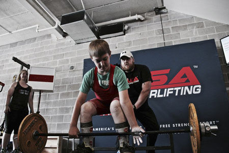 Mother Son Form Powerlifting Pair Sports Pinecitymn