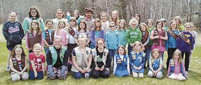 Girl Scouts celebrate successful Pinewood Derby