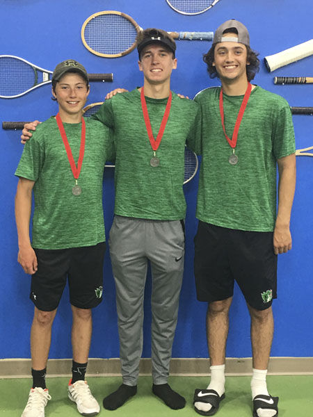 Three Dragons going to State Tennis Tournament