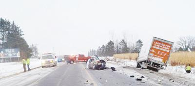 Two dead after crash on Highway 70