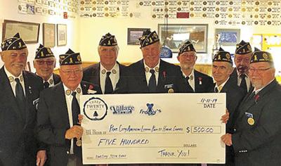 Veterans honored at Nov. 11 ceremony, supper