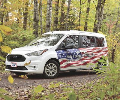 Pine County veterans get new van