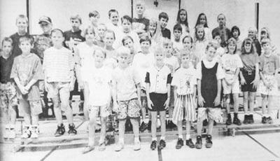 Students succeed in 1994 fitness challenge