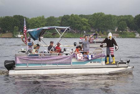 Boat parade celebrates Independence Day