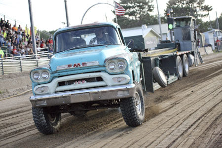 Pine County Fair - Wednesday night Truck Pull results