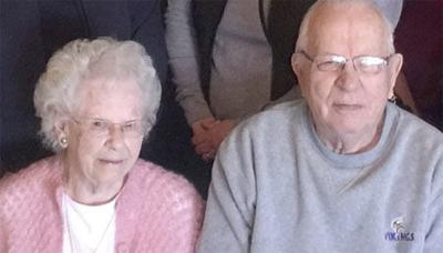 Holmstrom 65th wedding anniversary