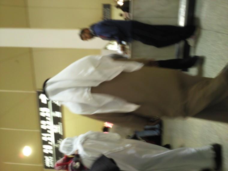 Kuwait City Airport - wating for visas