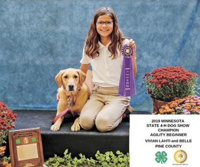 Pine County 4-Hers go to the dogs at State