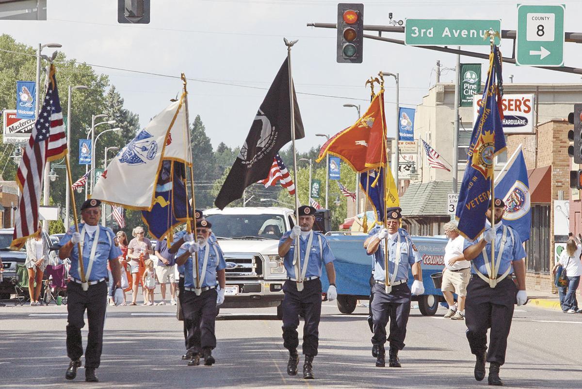 Pine County shares pride at parade