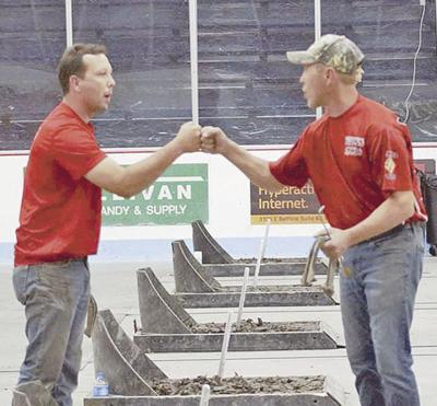 Pine City brothers make horseshoe history