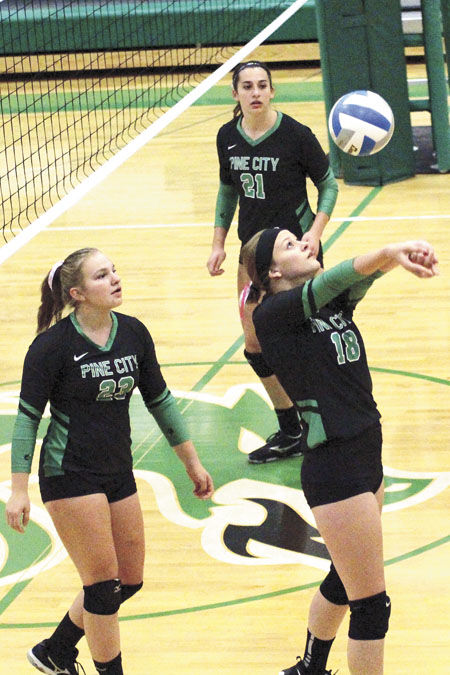 Dragon volleyball loses to Rush, finds redemption in Braham