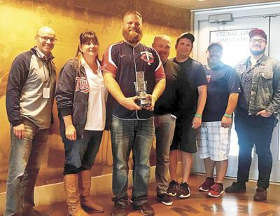 WCMP, Twins give $10k to Pine City youth baseball