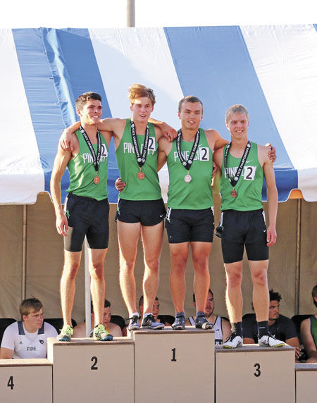 Relay squad races to new school record