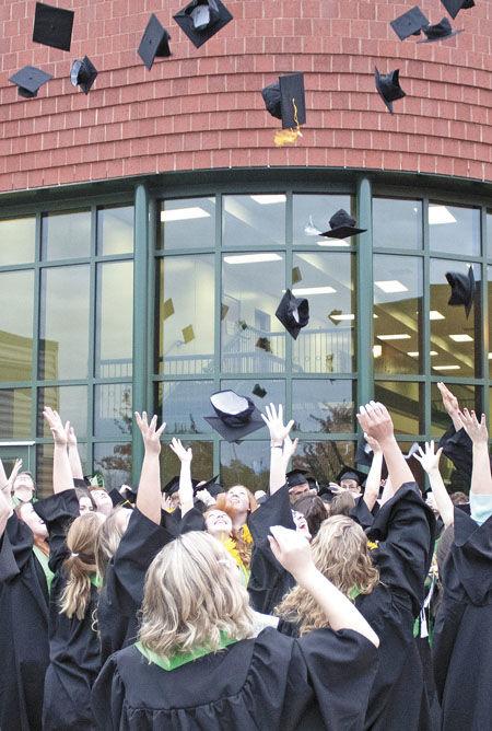 For seniors, it's graduation exultation