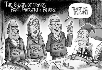 The Ghosts of Crises Past, Present & Future