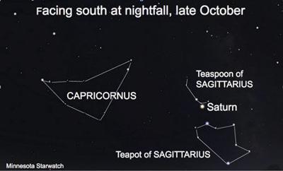 Minnesota Starwatch October brings celestial change