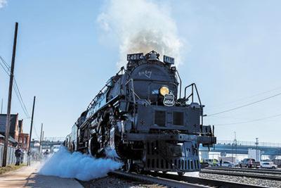 'Big Boy' passing through Pine County