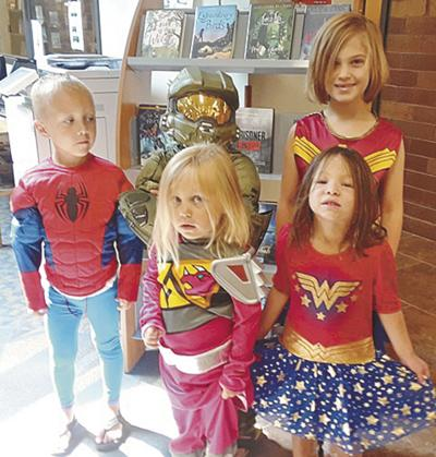 Superheroes, stories  provide entertaining end to Summer Reading