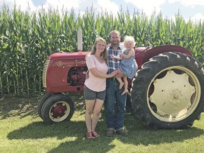Zasteras named Pine County Farm Family of the Year