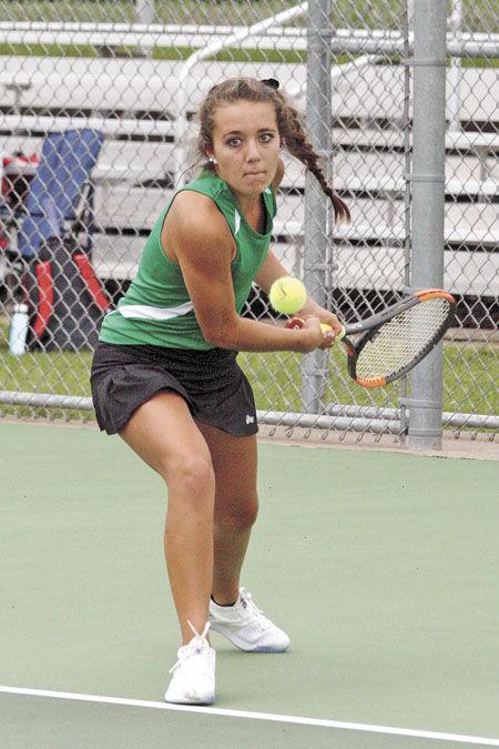 Tennis team defeats Pierz, hosts Eberhart Invitational