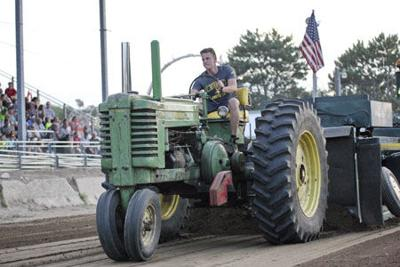 Tractors turn out