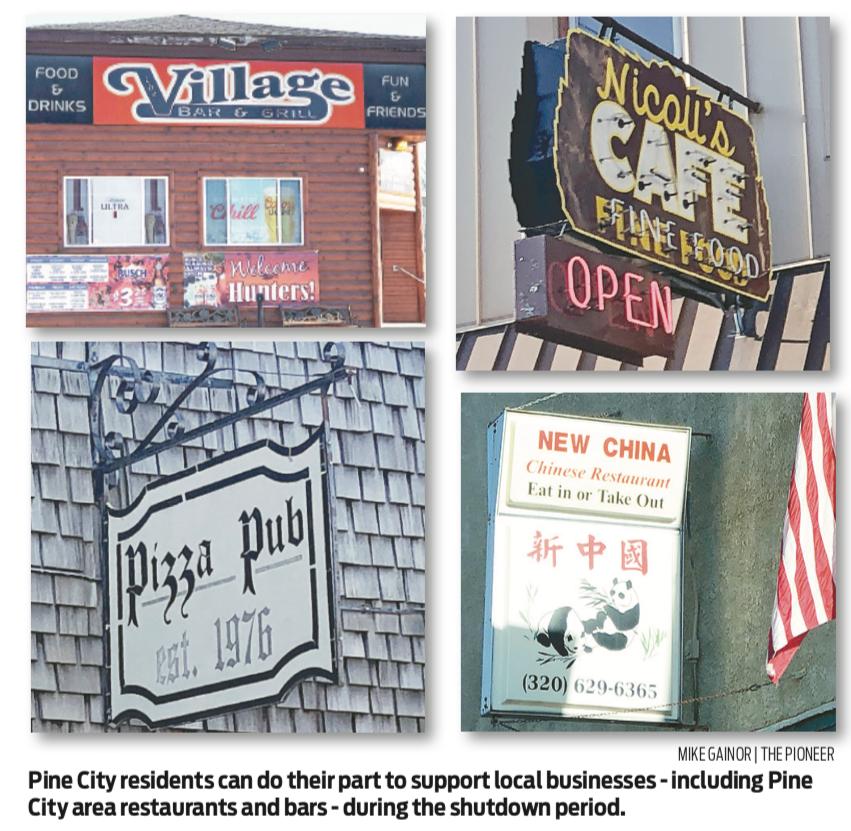 Help Pine City's restaurants survive COVID-19 shutdown