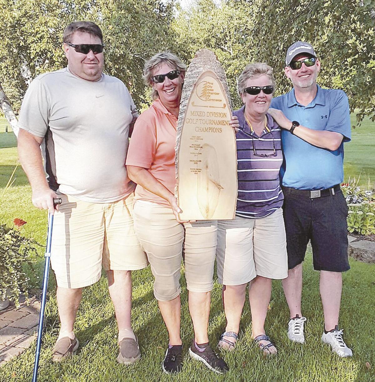 Pine Area Chamber Golf Tourney