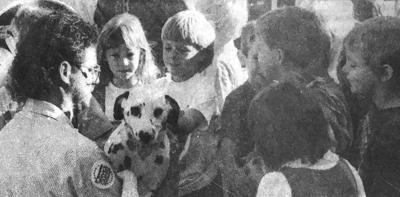 Dalmatian steals the show in 1995