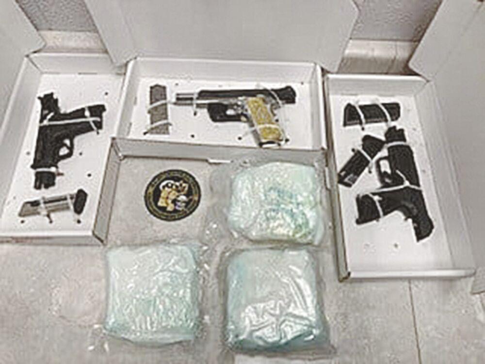 6 lbs meth in drug bust