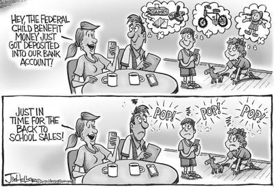 Joe Heller Cartoon July 22, 2021