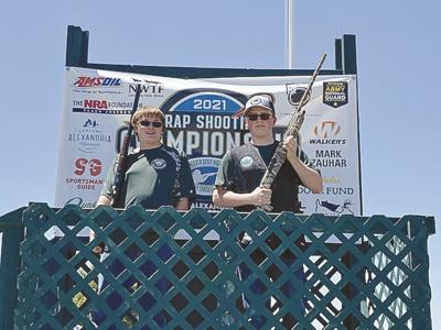 Perfect rounds shot at the 2021 State Clay Target Tournament