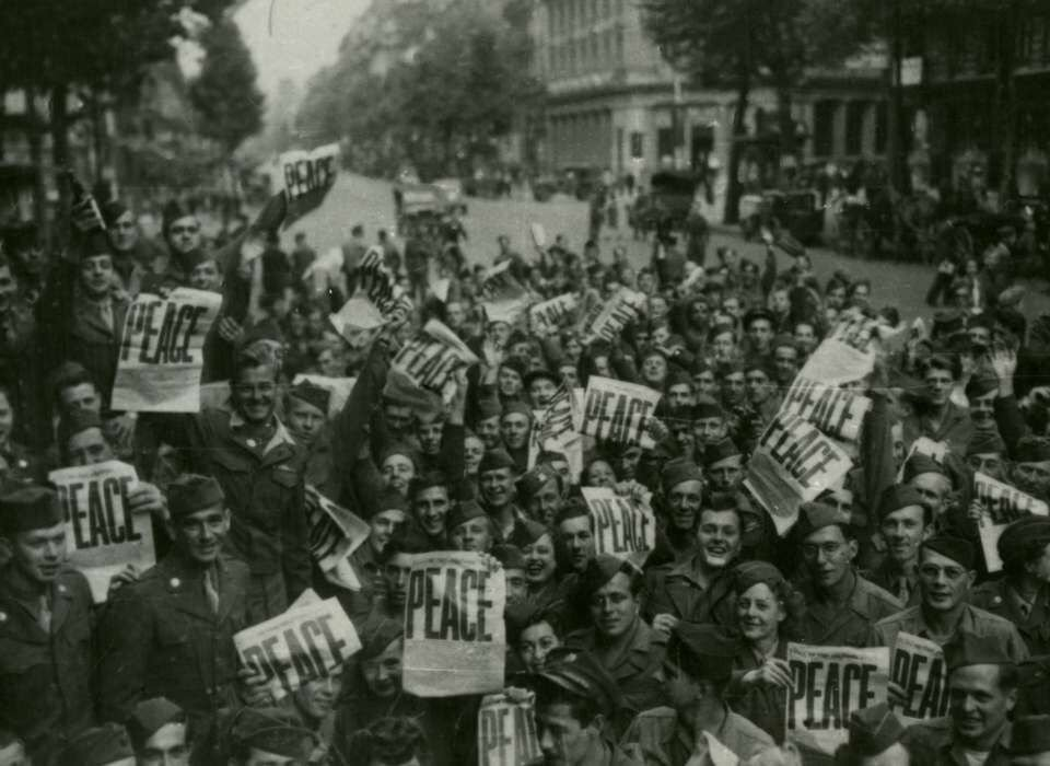 V-J Day! WWII is over!