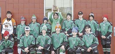 Peewee squad makes Pine City history at tourney
