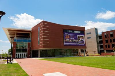 ECU Main Campus Student Center Lawn