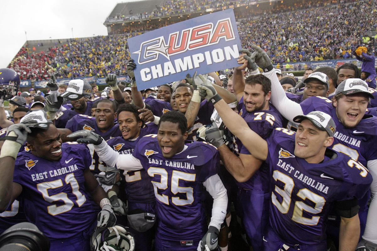 Pirate football's 2009 CUSA championship victory lives on