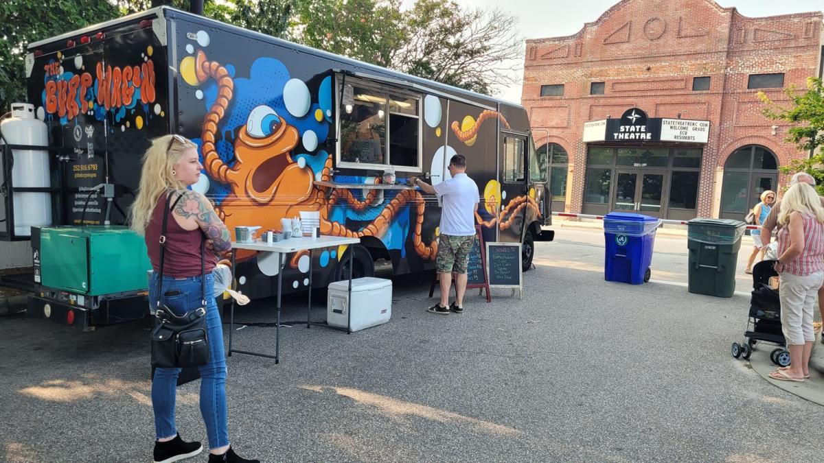 burp wagon food truck