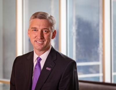 Chancellor-elect Philip Rogers