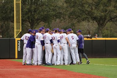 ECU baseball team