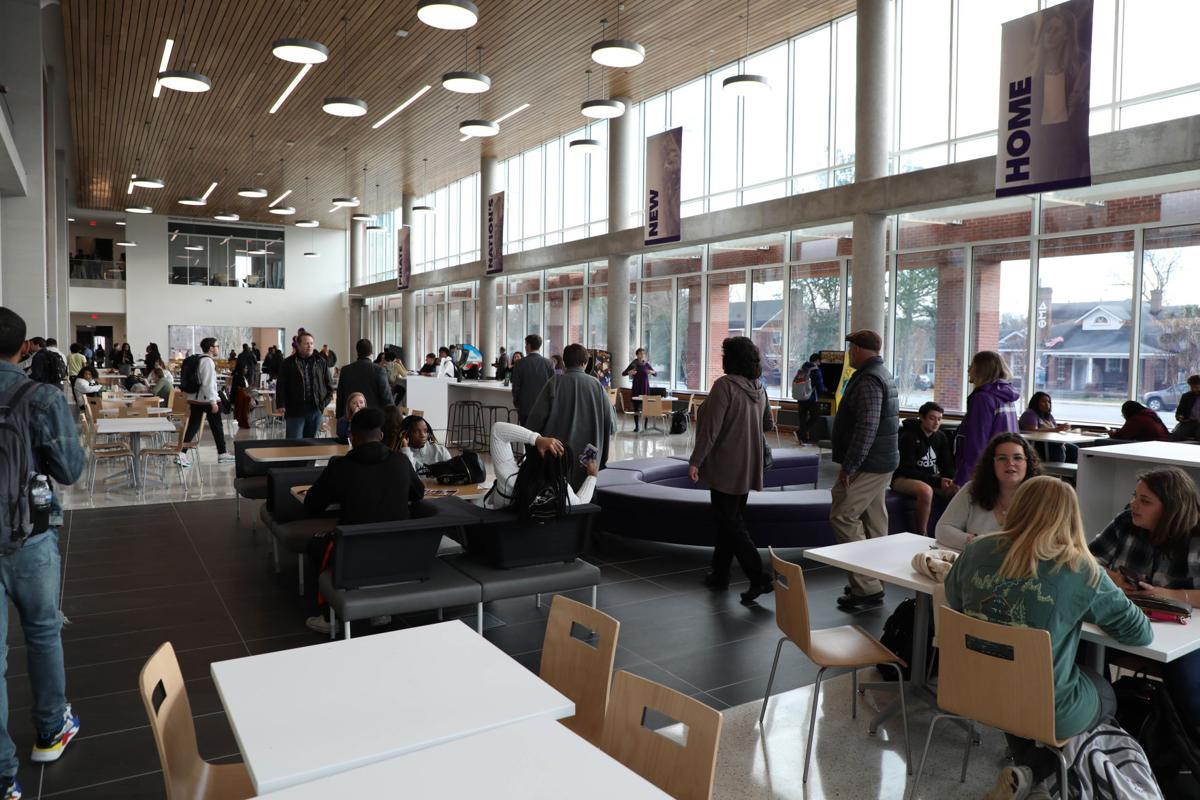 Students interact in the Main Campus Student Center
