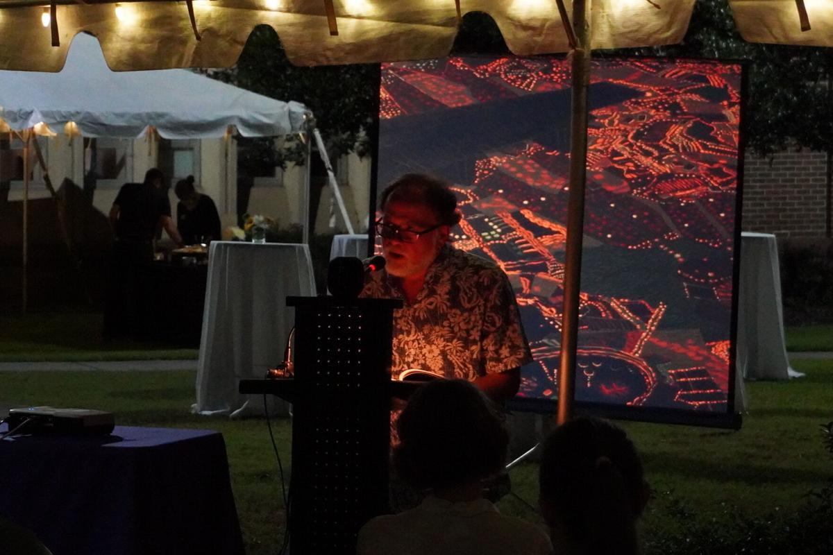 ECU professor launches book, unveils sculpture