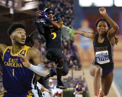 ECU athletes