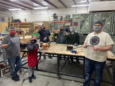 Makerspace's two blacksmithing classes