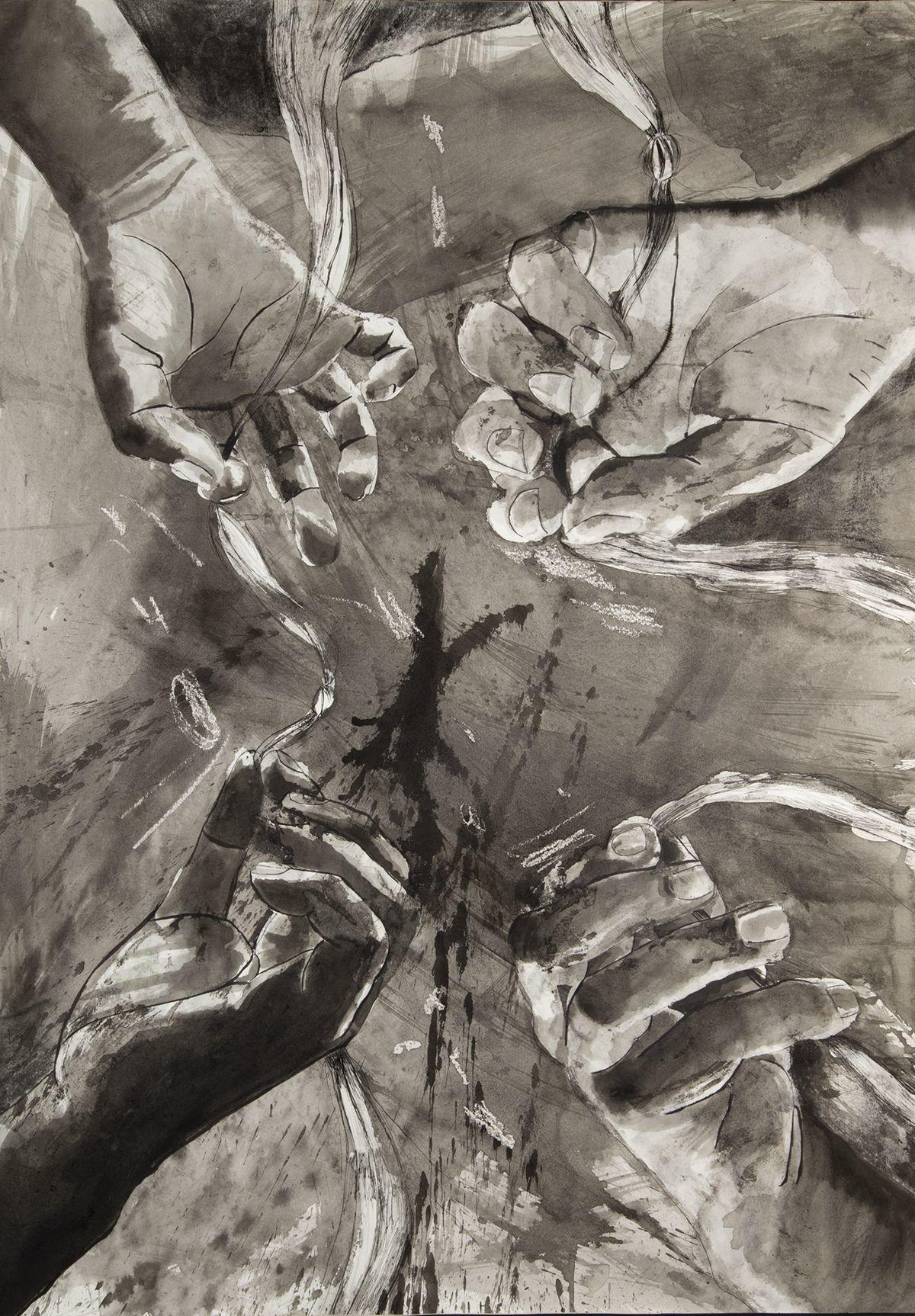 """""""Inside of Trich No. 1"""" by Carla Rivas Portillo"""