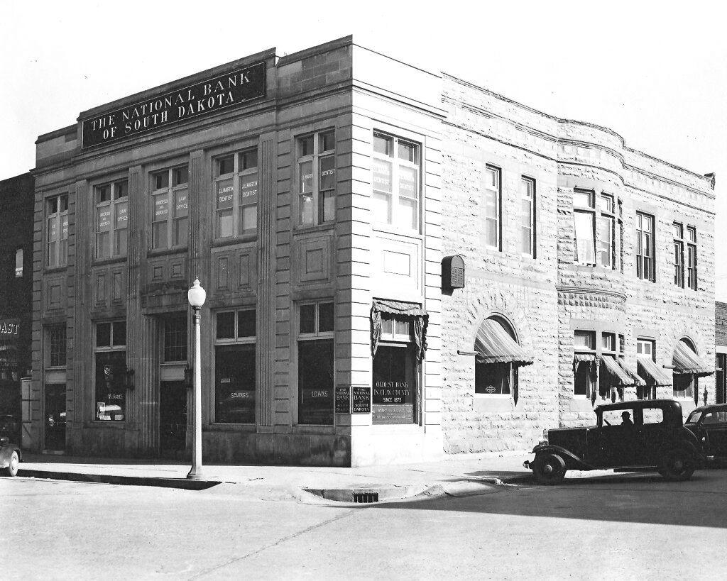 Originally Home To A Bank