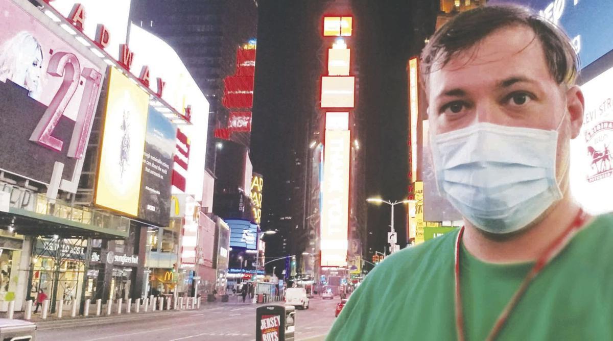 Empty Times Square
